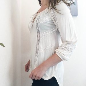 Lucky Brand Pale Pink Tunic
